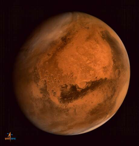 A human mission to Mars may be cost-prohibitive for NASA, experts say. Photo: ISRO / AFP