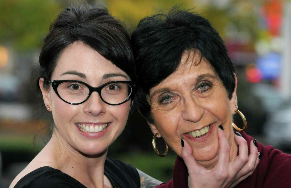 Kate Hoit with her mother Diane Hoit on Friday Oct. 9, 2015 in Albany, N.Y. (Michael P. Farrell/Times Union)