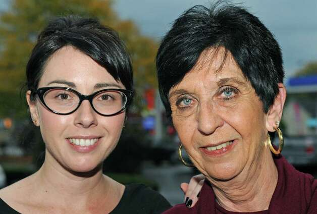Kate Hoit with her mother Diane Hoit on Friday Oct. 9, 2015 in Albany, N.Y.  (Michael P. Farrell/Times Union) Photo: Michael P. Farrell / 10033699A