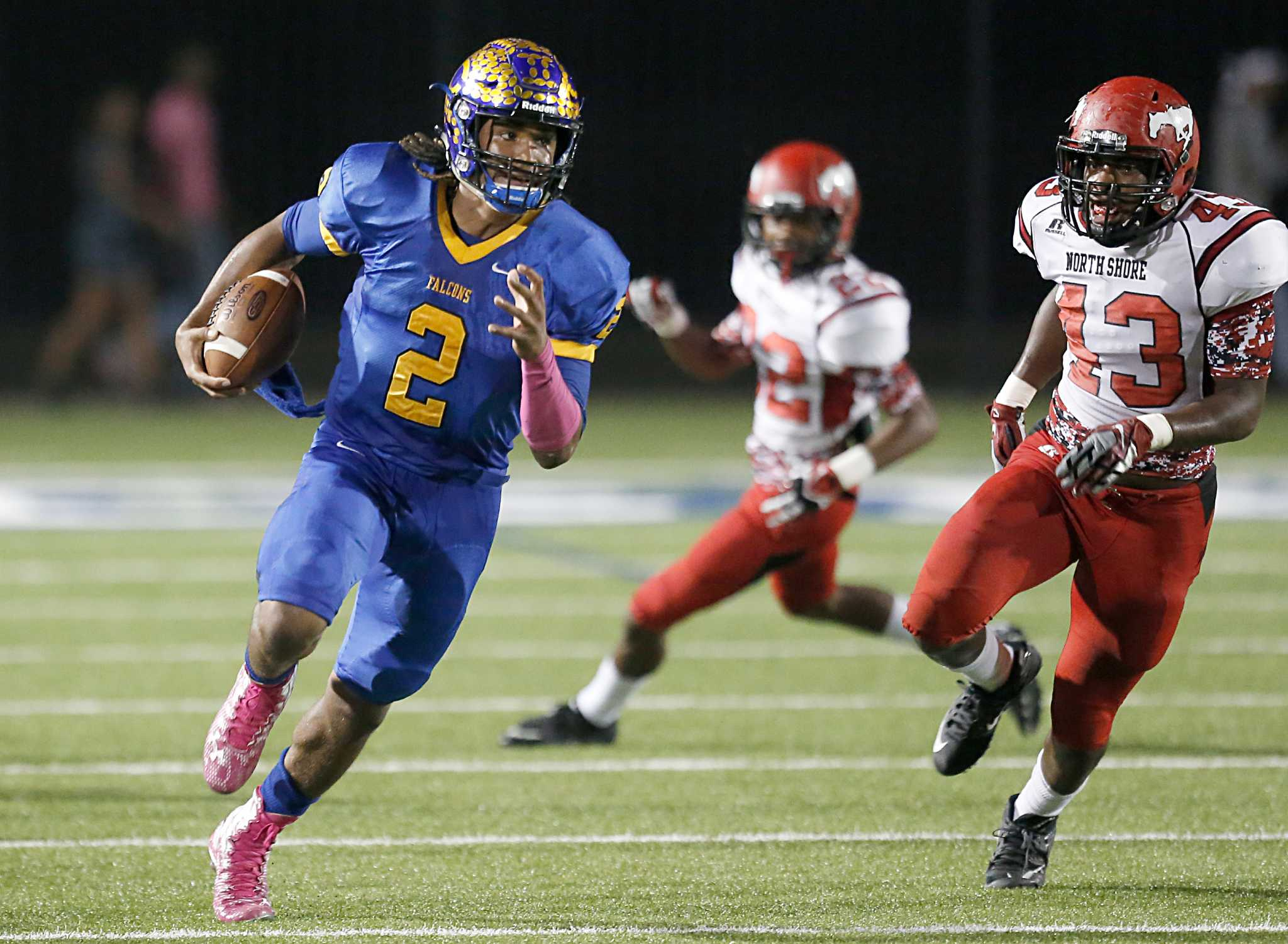 north shore weathers the storm against channelview