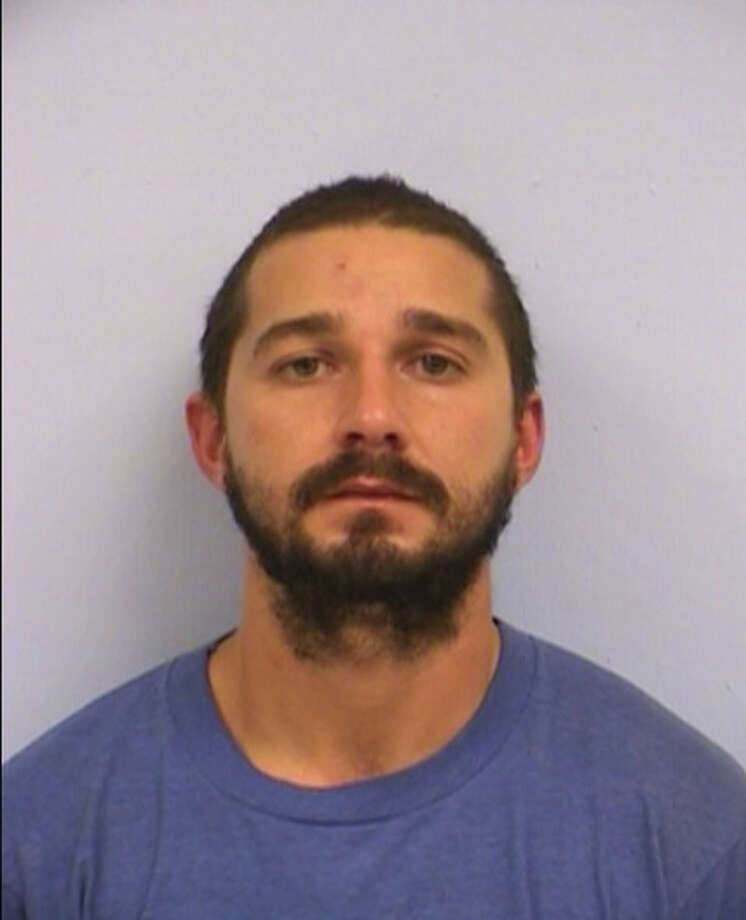 This booking mug provided by the Austin Police Department shows Shia LaBeouf. Actor Shia LaBeouf has been arrested and charged with public intoxication after an incident in Austin, Texas. Photo: Travis County Sheriff's Department