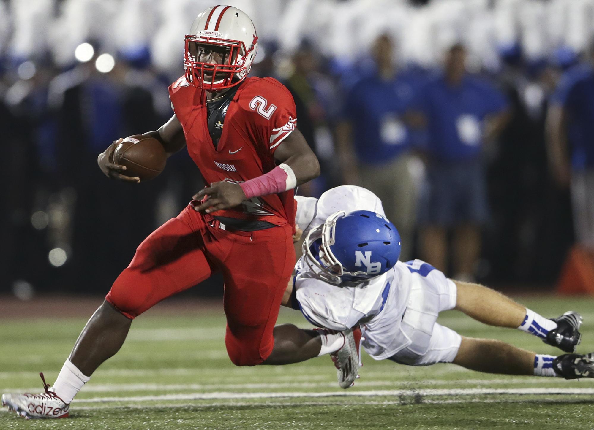 Fridays Associated Press High School Football Scores San Antonio