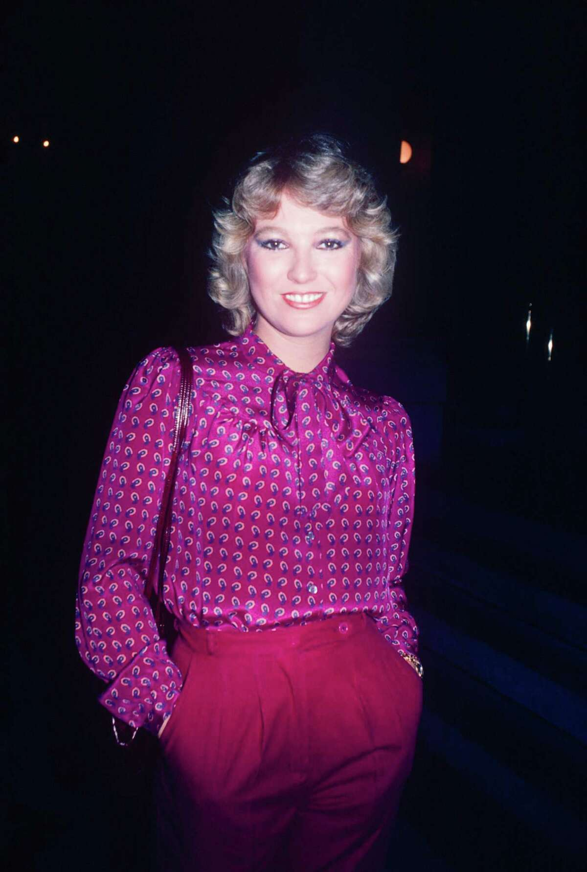 Tanya Tucker, seen here in the 1970s in New York, had her first hit --