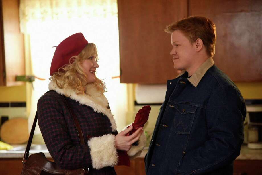 Kirsten Dunst and Jesse Plemons play spouses in deep trouble in 'Fargo's' second season on FX. October, 2015  FARGO -- Pictured: (l-r) Kirsten Dunst as Peggy Blumquist, Jesse Plemons as Ed Blumquist. CR: Chris Large/FX Photo: Chris Large/FX / Chris Large/FX / Copyright 2015, FX Networks. All Rights Reserved.