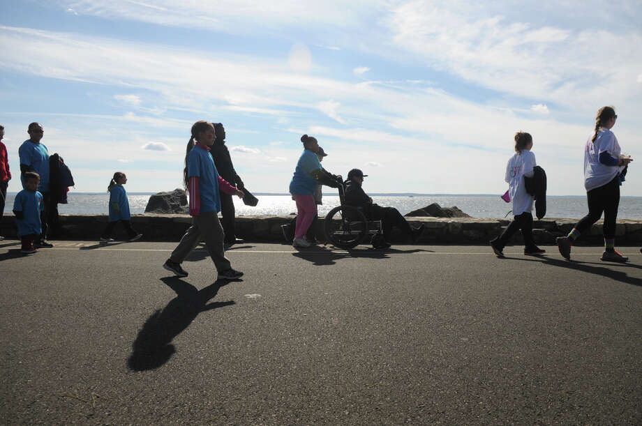 Hundreds of people turned out for the 2013 Walk for Abilis at Greenwich Point in 2013. Abilis, formerly ARC of Greenwich, has been serving people with developmental disabilities in lower Fairfield County since 1951. Photo: / Contributed / Stamford Advocate Freelance