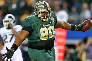 Another big-man TD: LaQuan McGowan scores again in Baylor's huge victory - Photo