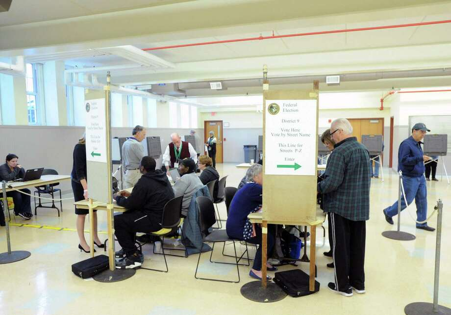 Municipal elections will be held Nov. 3. The Registrar of Voters is holding special registration sessions for people who have not signed up and want to cast a ballot. Photo: Bob Luckey / Bob Luckey / Greenwich Time