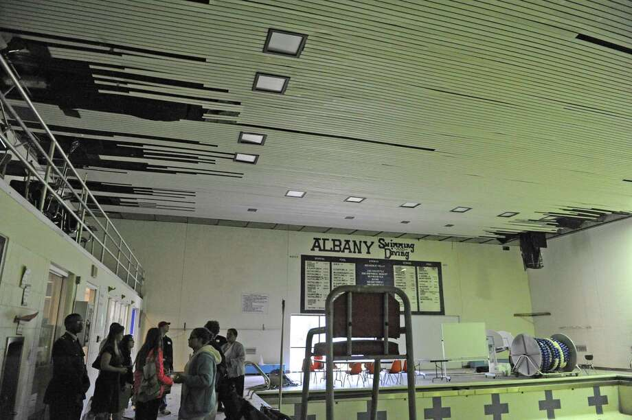 Albany High Hosts Tours In Advance Of Vote On Improvements Times Union