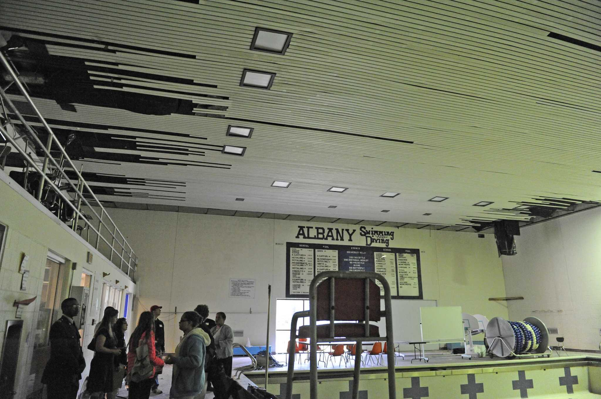 Albany High Hosts Tours In Advance Of Vote On Improvements