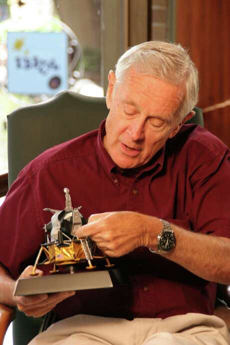 Charlie Duke was the 10th person to walk on the moon. / handout email