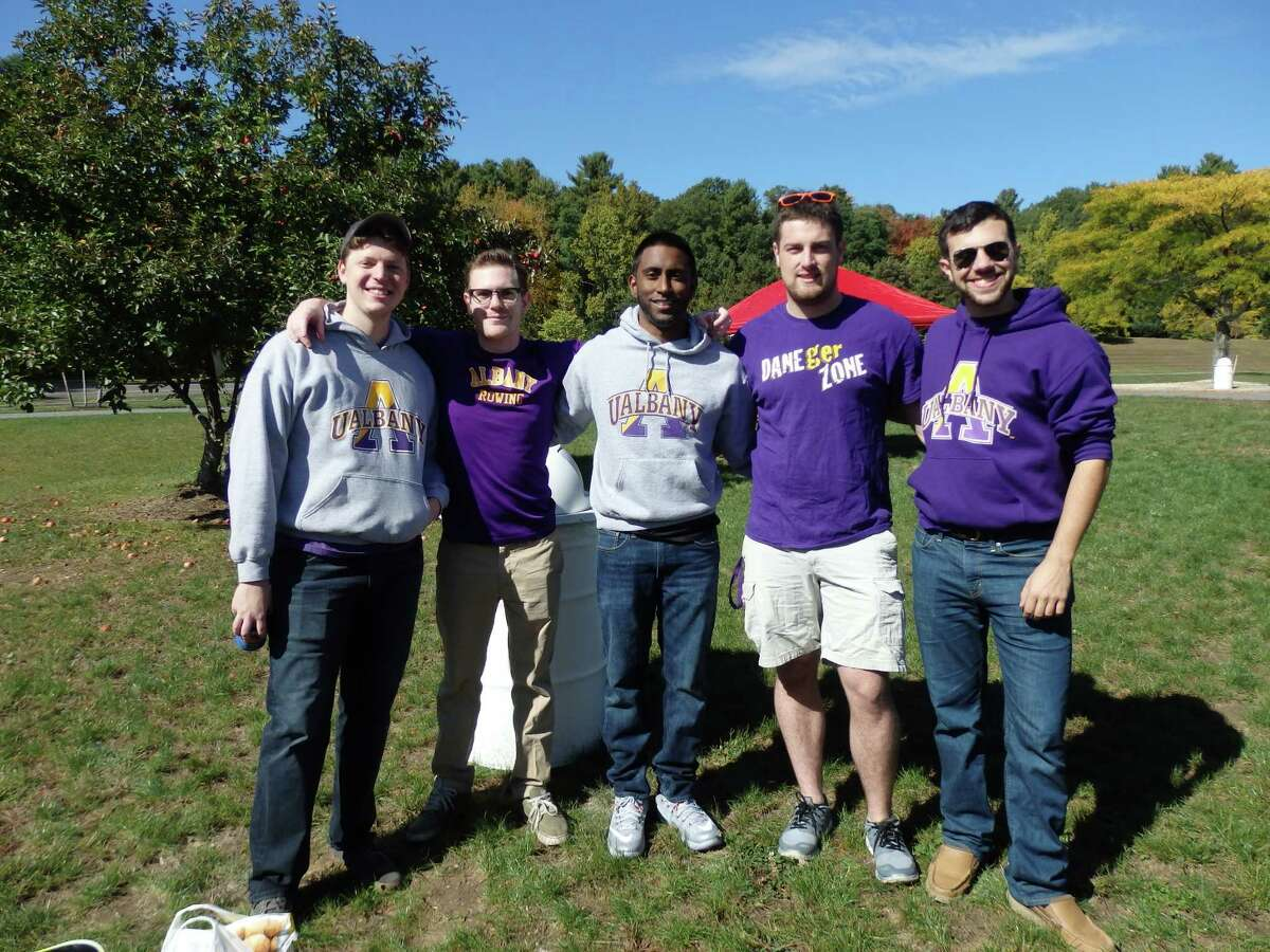 Were you Seen at the University at Albany homecoming game on Saturday, Oct. 10, 2015?