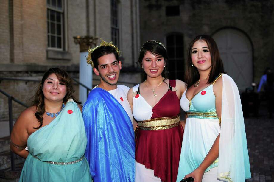 The San Antonio Museum of Art threw a rocking toga party Friday night, only most showed up dress clothes. Seems the partiers at the Roman Bacchanal Art Party could have used some help from John Belushi and the guys of Delta house. Photo: By Brenda Piña, For MySA.com