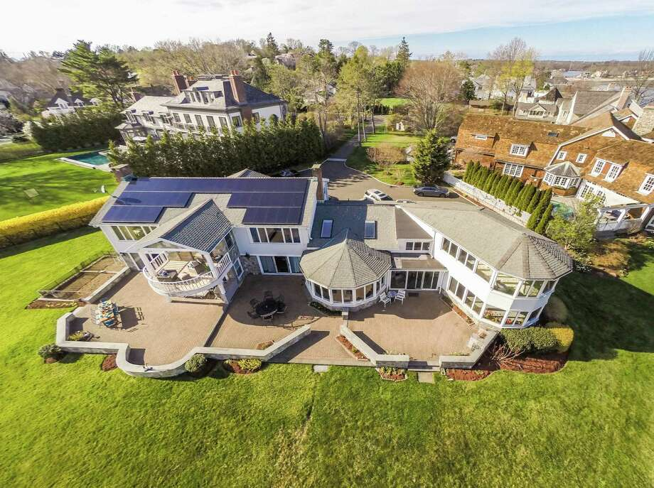 The property at 8 Bluewater Lane is on the market for $9,995,000. Photo: Contributed Photos / Westport News