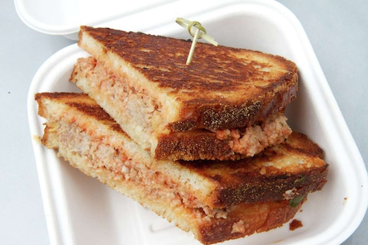 Melt Mobile Veteran's Park, Stamford Original Melt:Vermont Cheddar, Monterrey Jack, Mozzarella and Gruyere on Country White Bread Yelp: 4 out of 5 (18 reviews)