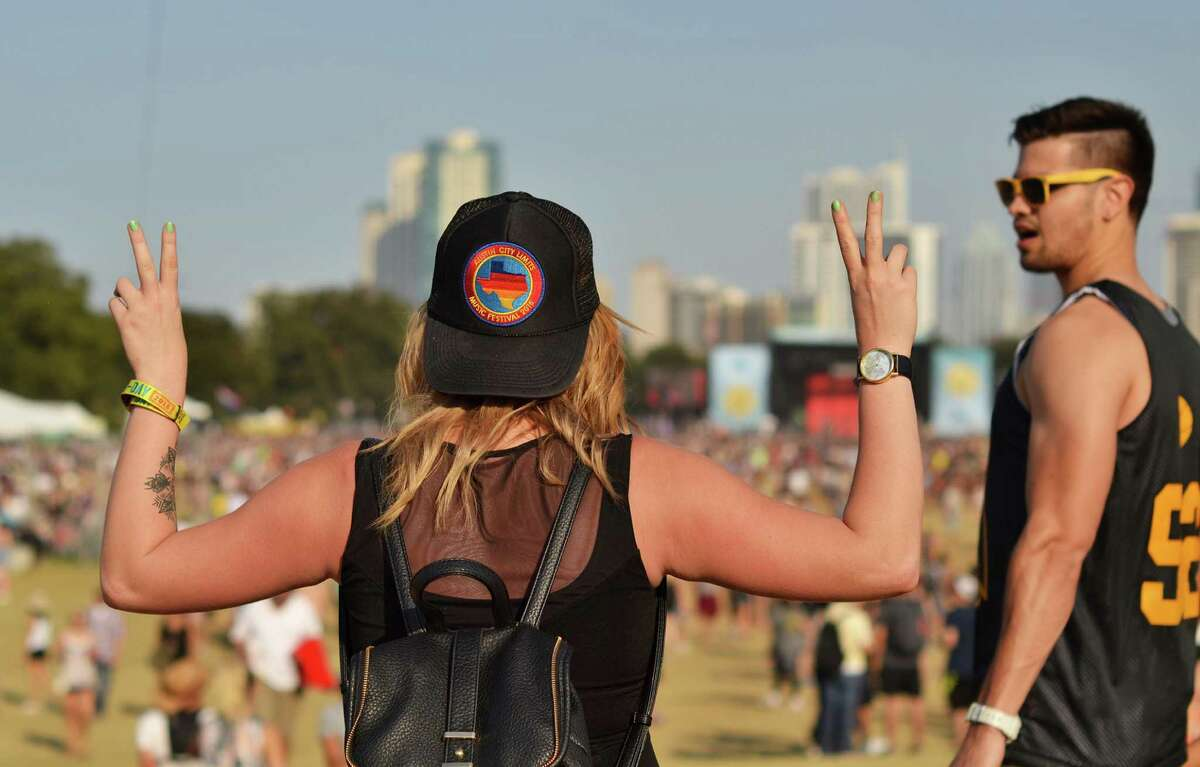 Go to Austin City Limits Zilker Park in Austin The outdoor festival that features the best musical acts and otherwordly art attracts thousands every year. The event grew so much that it had to be split into two weekends.
