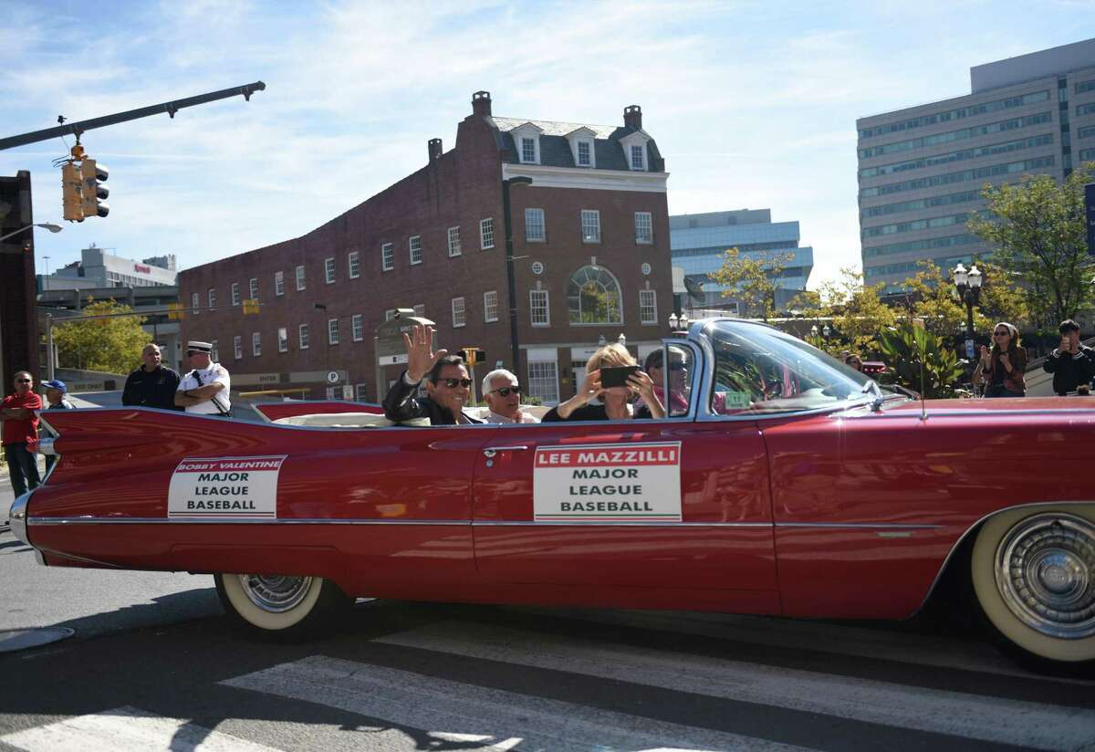 Photos from the annual Columbus Day parade in Stamford, Conn. Sunday, Oct. 11, 2015. The event, led by Grand Marshal Genaro Rubino, paid tribute to Christopher Columbus and other great Italian explorers with a variety of bands, floats and local organizations marching.