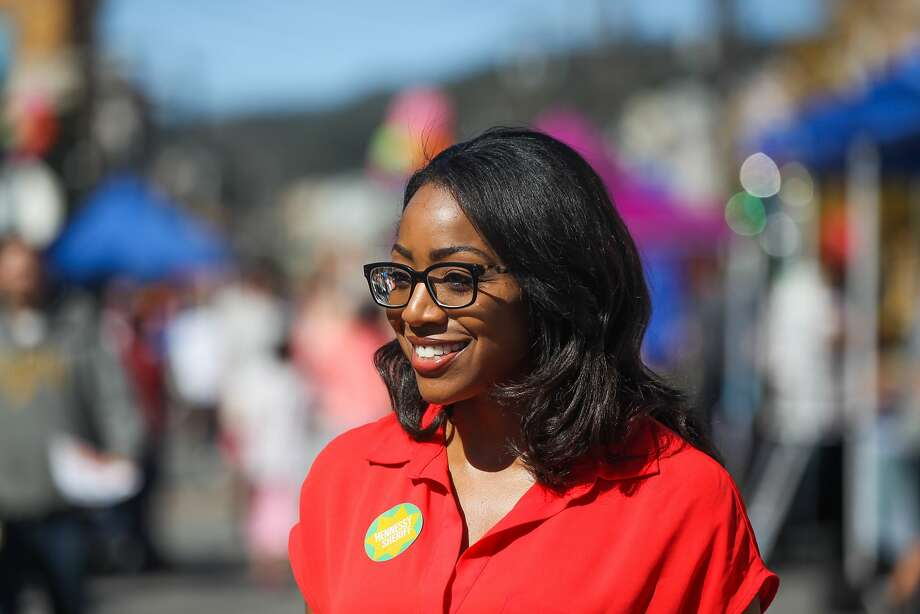 Malia Cohen mingled with the crowd at the Visitacion Valley Street Festival  in San Francisco last October. The supervisor is the main proponent behind the city's renewed effort behind a soda tax.  Photo: Gabrielle Lurie, Special To The Chronicle