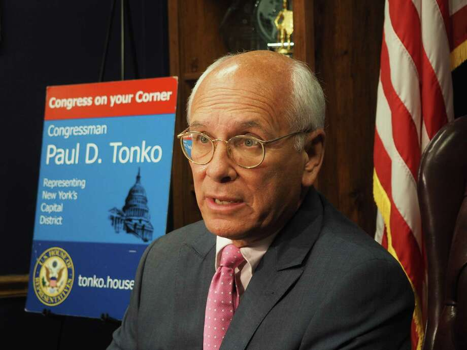 Rep. Paul Tonko spoke of the need to build consensus in Congress Oct. 11 in Albany. (Photo: J.p. Lawrence).