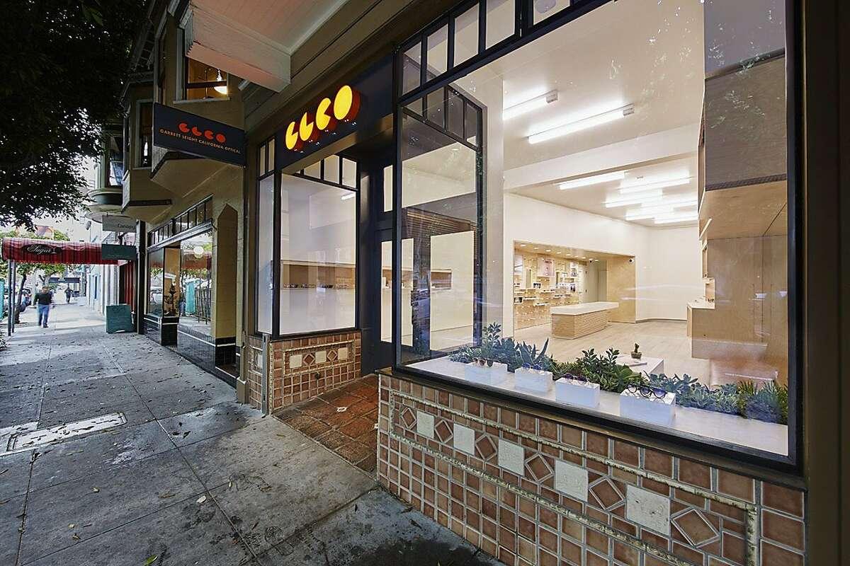 Garrett Leight's new store in San Francisco.