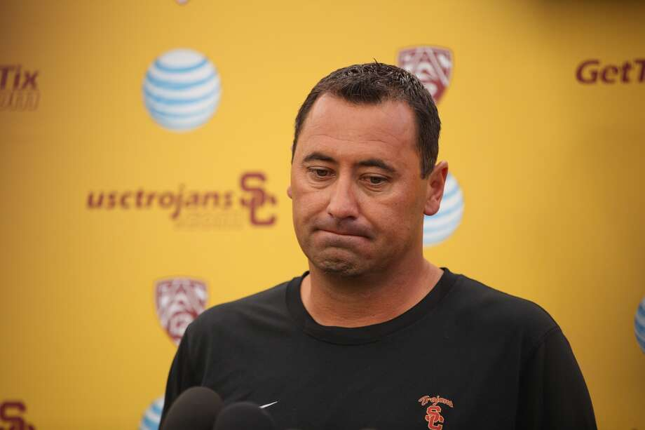 USC coach Steve Sarkisian issues a public statement days after showing up to a booster event intoxicated (Al Selb, Getty Images) / Los Angeles Times