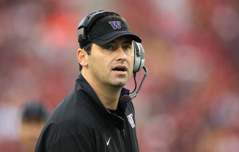 Steve Sarkisian amassed a 34-29 record at UW from 2009 to 2013. (Stephen Dunn, Getty Images)