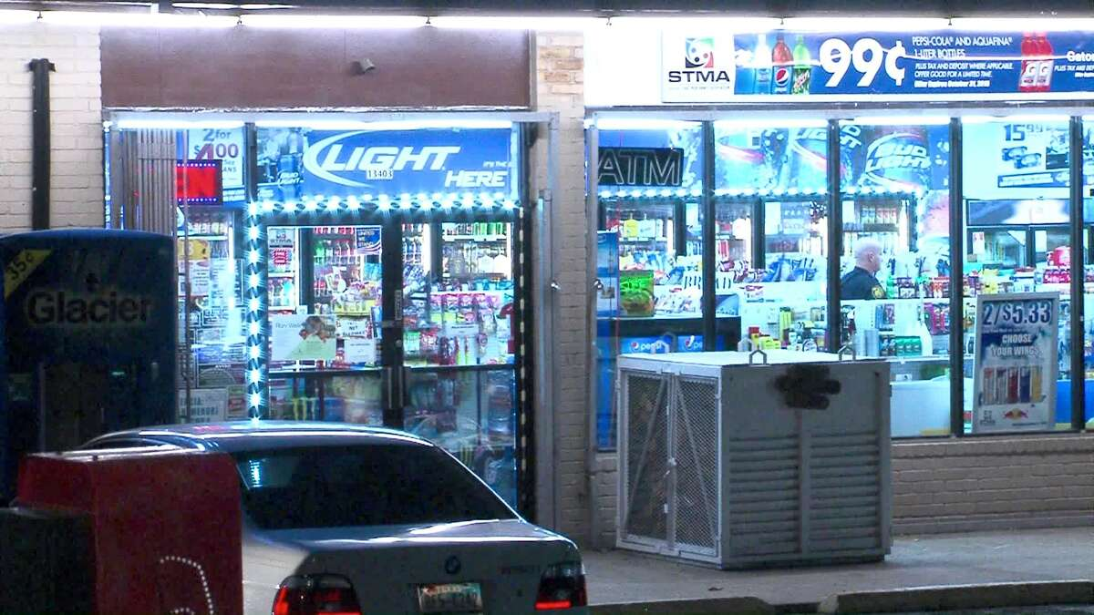 Police are searching for two men suspected of robbing a North Side convenience store Sunday night.
