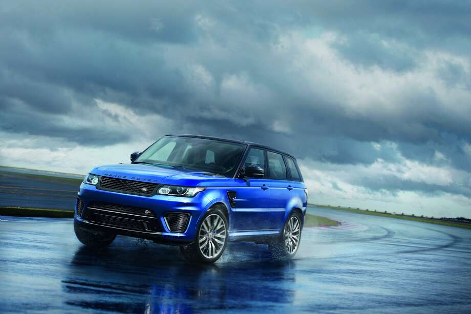 Land Rover unveiled the all new Range Rover Sport SVR.