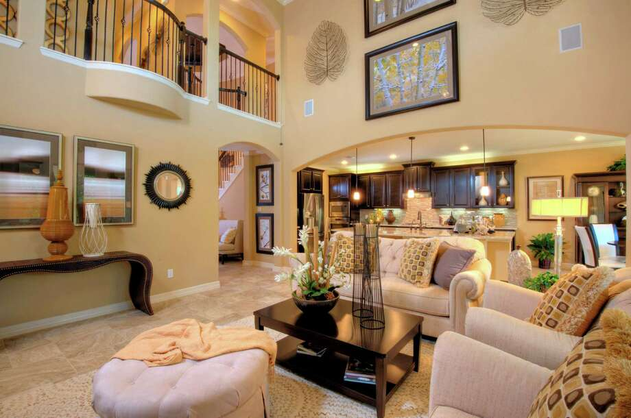 Harmony presents new model homes houston chronicle for New home models