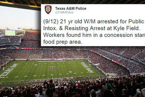 A&M police's wildest callouts - Photo