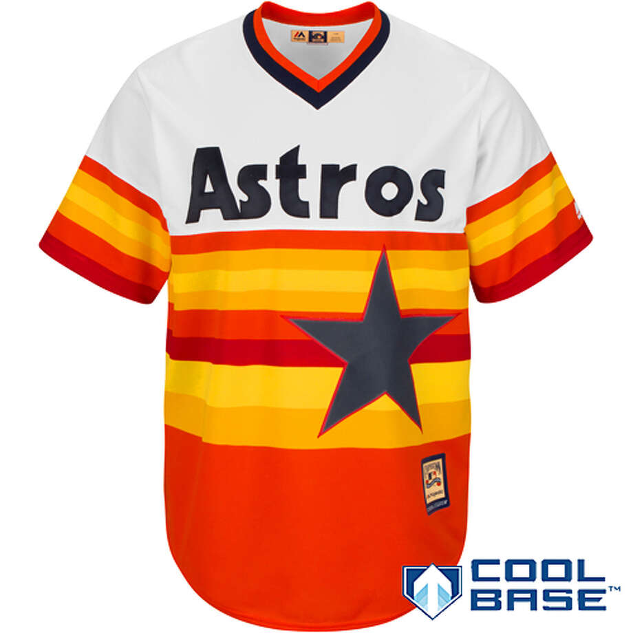 Houston Astros Cool Base Home Cooperstown Jersey, $89.99, shop.mlb.com Photo: Courtesy Photo