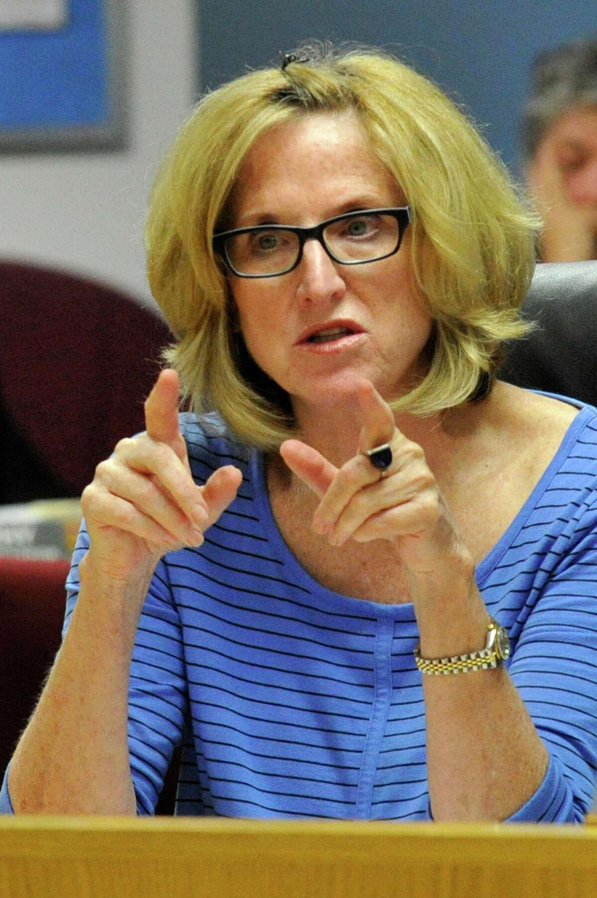 Stamford Board of Education member Julia Wade
