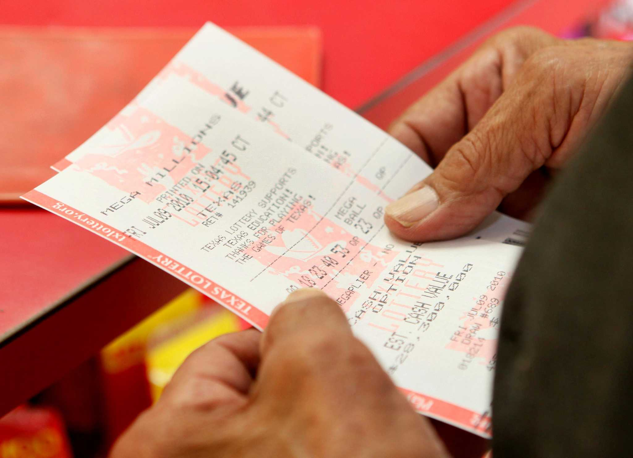 Check your ticket  Someone in Houston won $20 million in Texas Lotto
