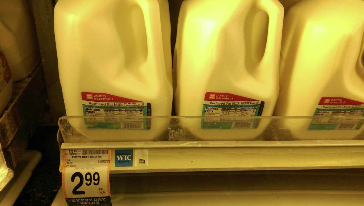 SafewayOne gallon store brand 2 percent milk Regular price: $2.99Ruling: Tie, unless it's on sale at Fred Meyer