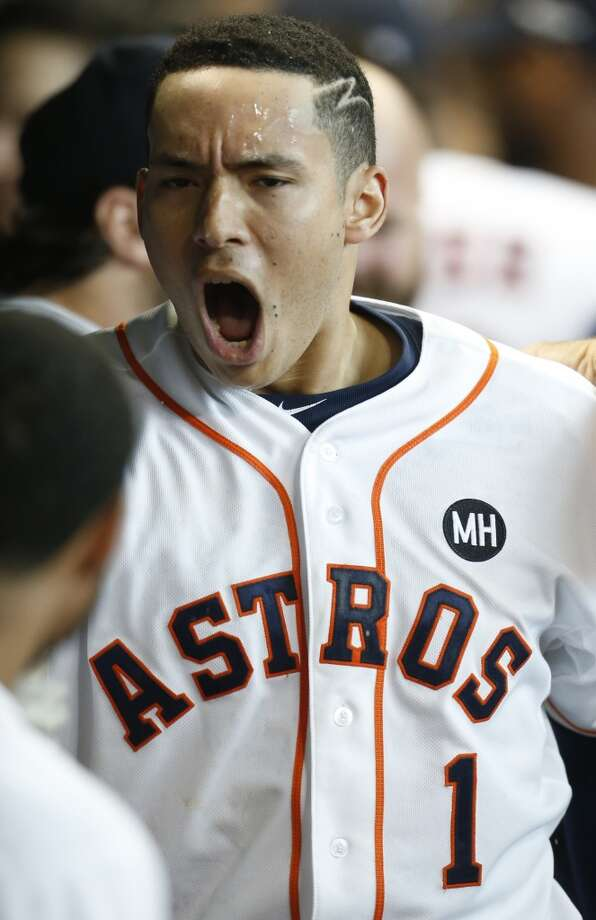 Young Astros star Carlos Correa has put up some impressive numbers during the first 100 games of his career.Click through the gallery to see what other current and former MLB stars did in their first 100 games. Photo: Karen Warren, Chronicle