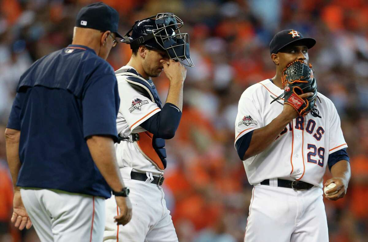 RANKING THE ASTROS' WORST PLAYOFF LOSSES 3. Game 4, 2015 ALDS: Royals 9, Astros 6 With a 6-2 lead and needing six outs to advance to the ALCS, relievers Will Harris, Tony Sipp and Luke Gregerson gave up the game's final seven runs - five in the eighth inning. The Astros then lost the deciding Game 5 in Kansas City.