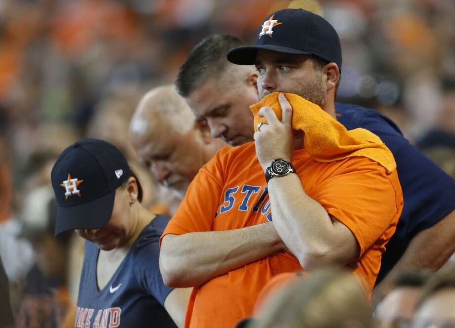 PHOTOS: Reasons why Astros fans don't have a reason to panic about their team's current slumpThe Astros are 13-17 since the All-Star break which has led some fans to freak out. Here's a call for everyone to just relax a little.Browse through the photos above for a list of reasons why Astros fans don't need to panic about their team's World Series chances. Photo: Karen Warren, Chronicle