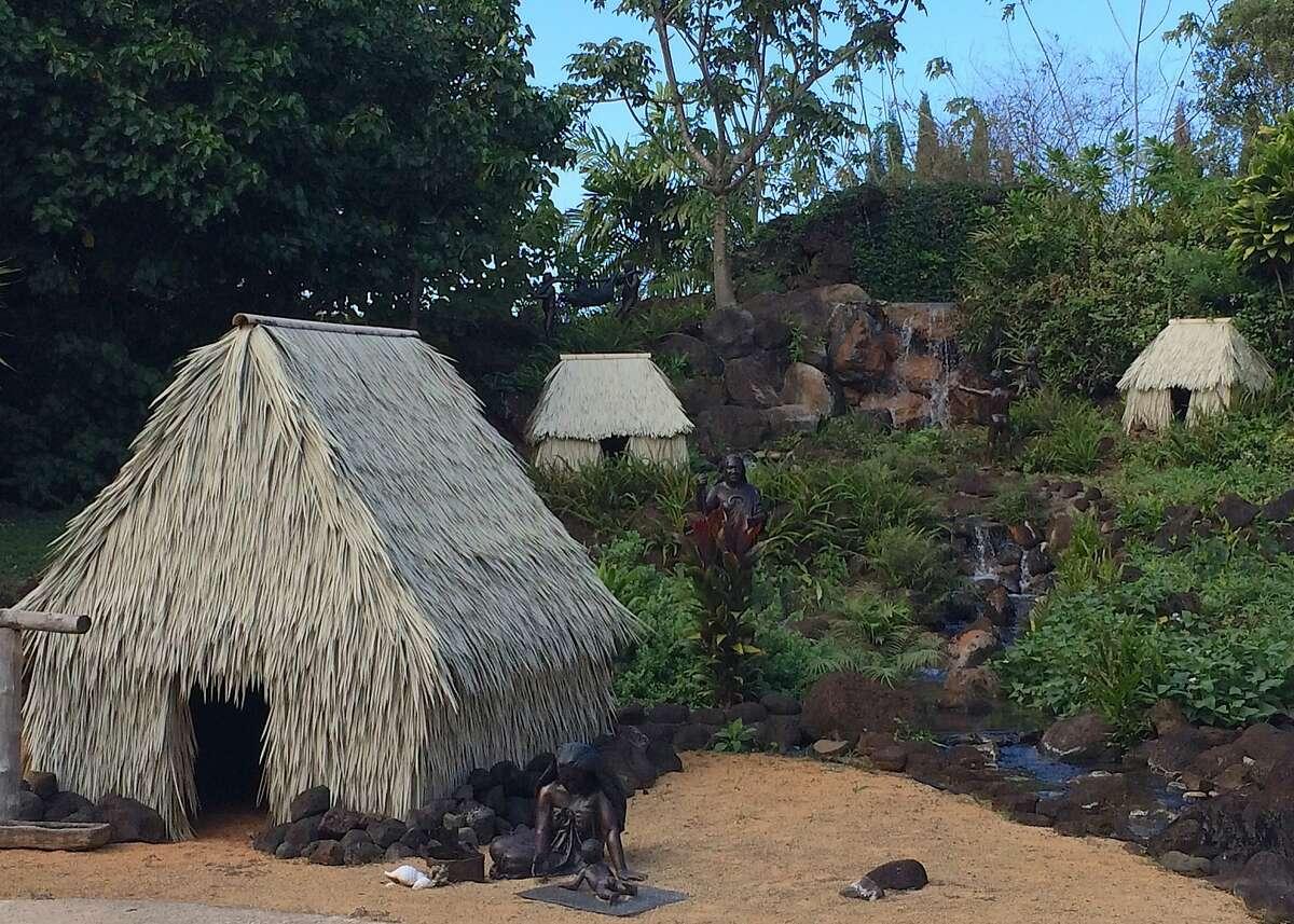 Na Aina Kai founder Joyce Doty commissioned sculptors and gardeners to create a model Native Hawaiian enclave known as an ahupua'a.