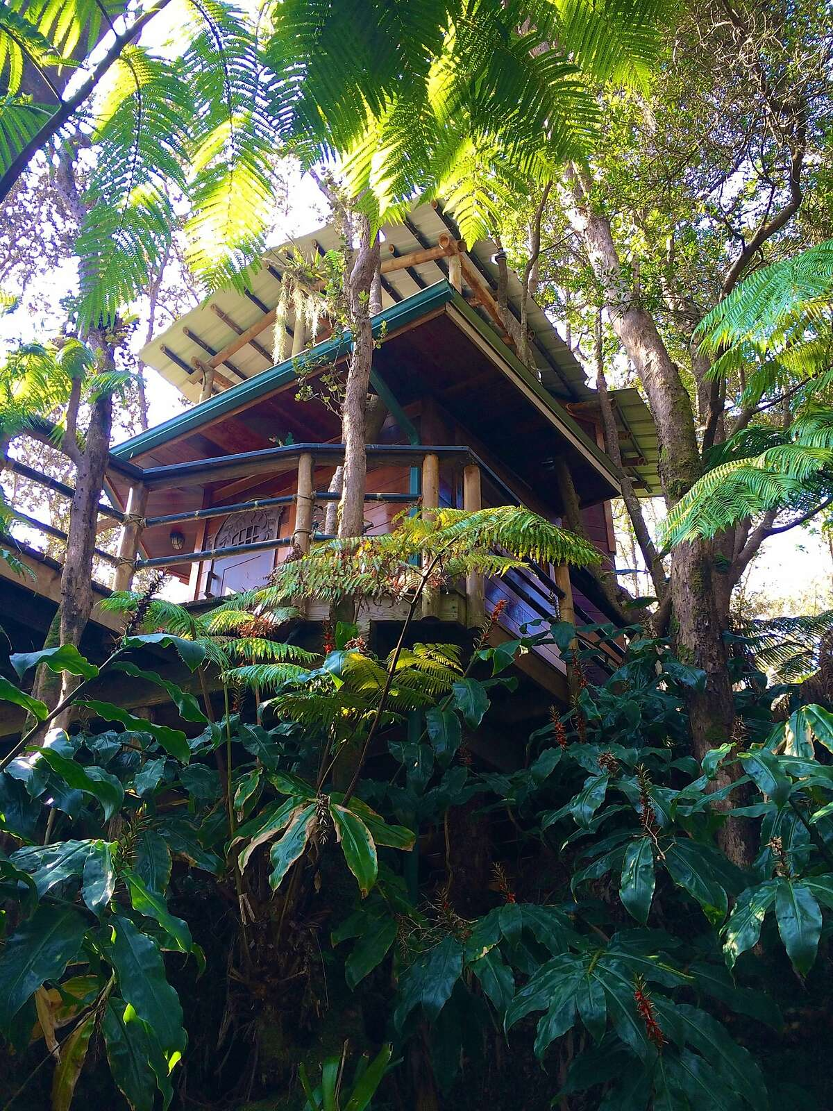 Gail Armand, a Marin native and 1972 Cal alumna, and husband Robert van Sluis opened the sustainably built, custom-designed Mahinui Na Lani (