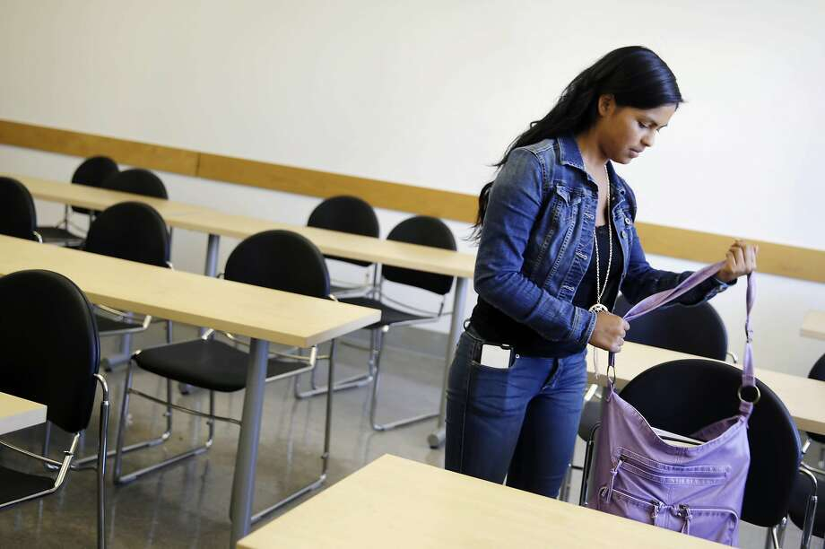 Giron was a newcomer to the U.S. in the class of 2013 who struggled with the English portion of the Exit Exam. Photo: Lea Suzuki, The Chronicle