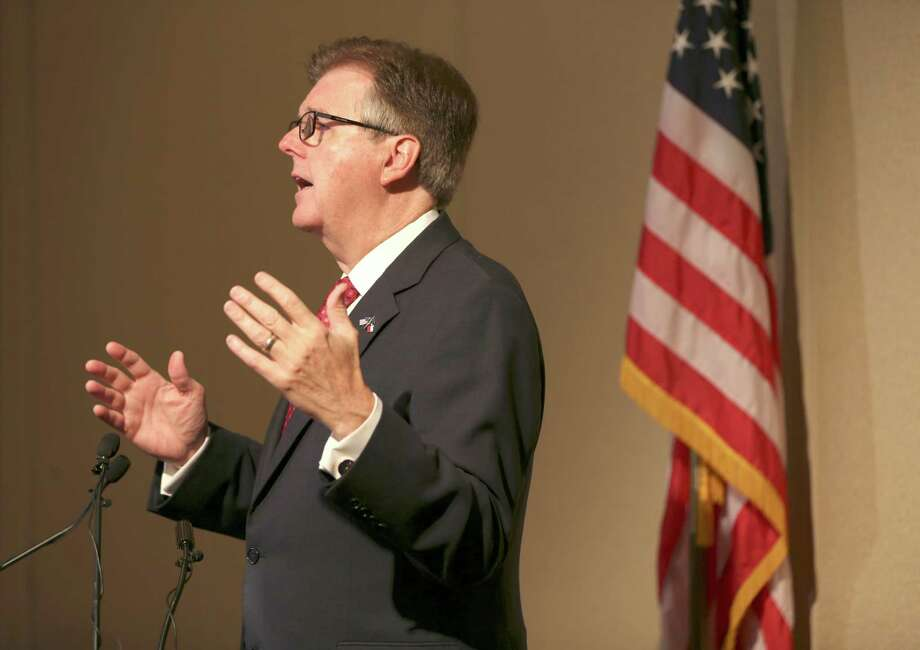 Lt. Gov. Dan Patrick said in a nationally broadcast interview that Planned Parenthood does little more than profit from killing babies. Photo: William Luther /San Antonio Express-News / © 2015 San Antonio Express-News