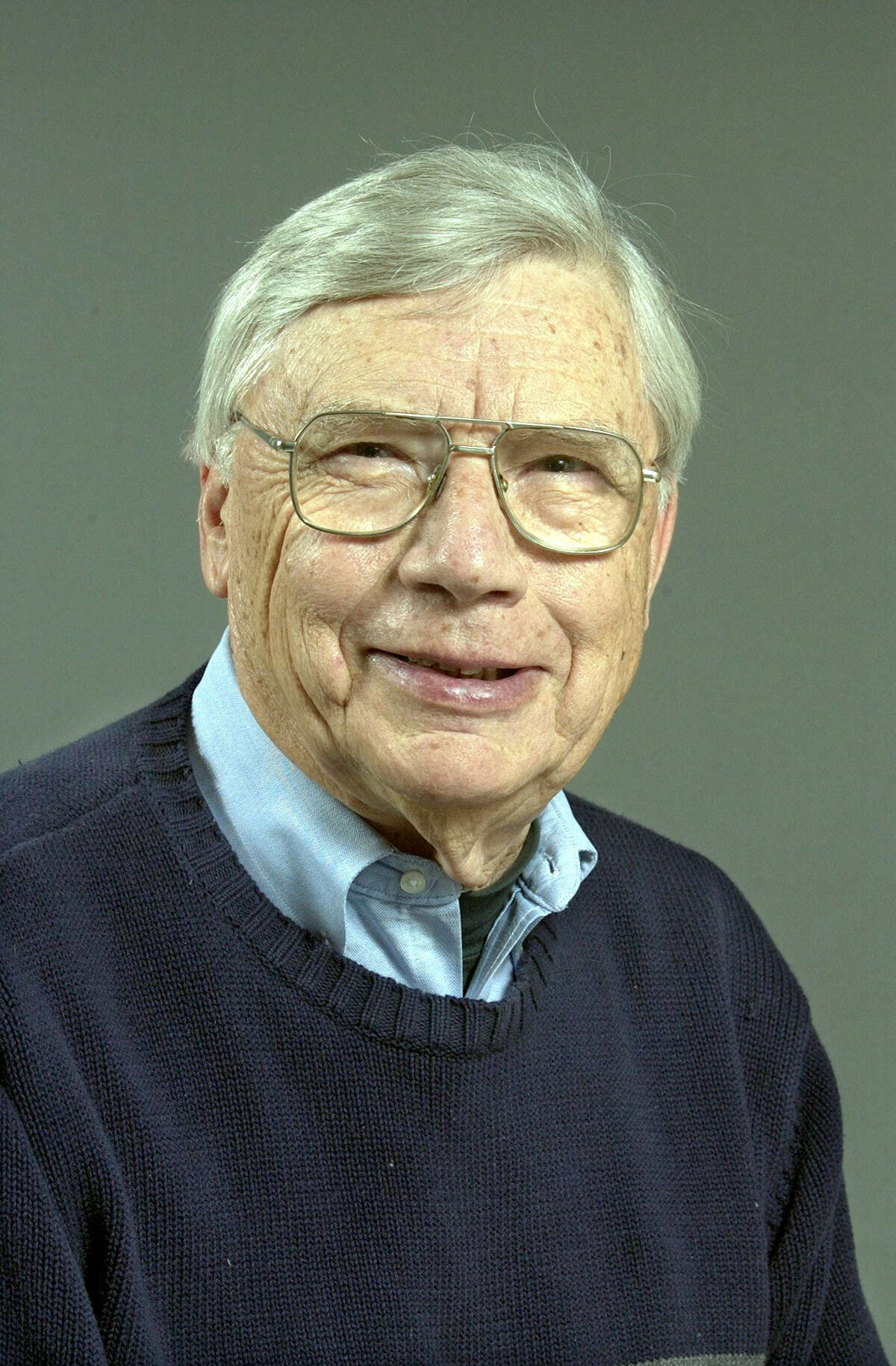 Forrest Palmer, former News-Times publisher. March 2004
