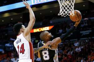 Spurs dominant through three in loss at Miami - Photo
