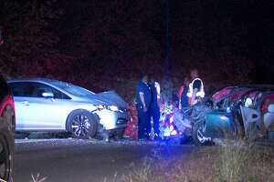 Four hospitalized, including child after head-on crash - Photo
