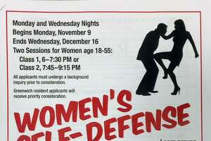 Self-defense classes for women sponsored by GPD - Photo