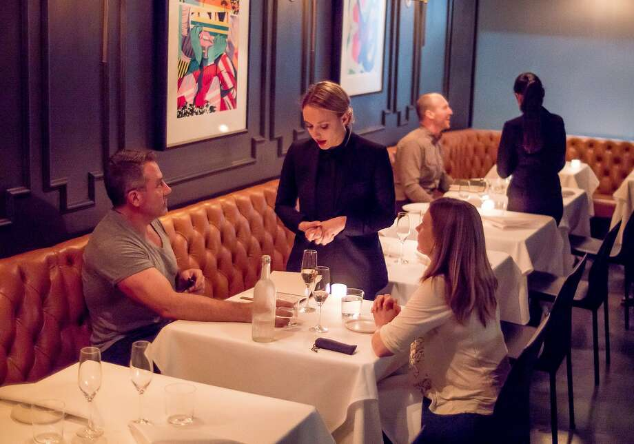 Diners have dinner at Californios in San Francisco. Photo: John Storey, Special To The Chronicle