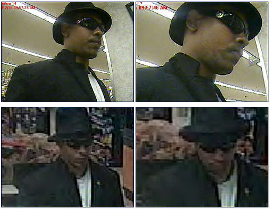 'Fedora Felon' sticks up bank inside KrogerThe FBI Violent Crime Task Force needs the public's help to track down the bank robber who robbed the First Convenience Bank inside the Kroger at 1990 Old Spanish Trail in Houston, Texas, on Monday. The robber dressed up for the crime—wearing a white dress shirt, black blazer, and a black fedora hat during the robbery.See more unique FBI bank robber nicknames ... Photo: FBI Houston