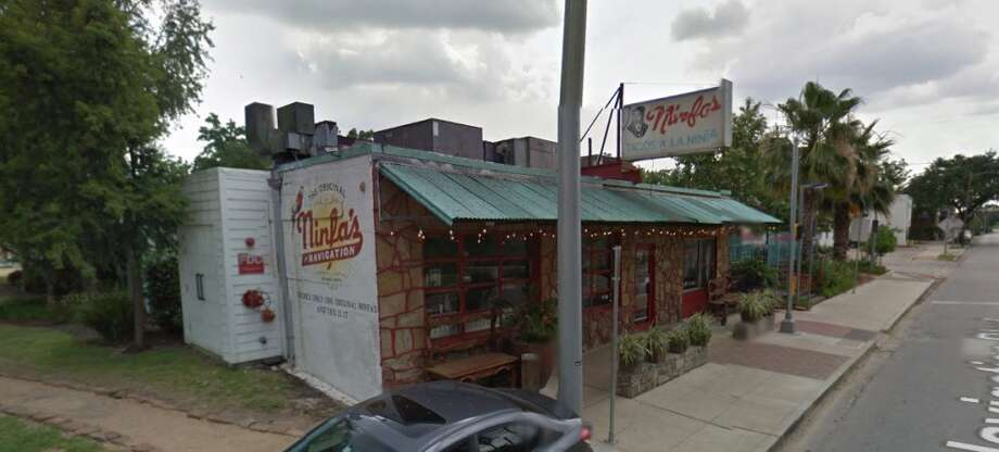 Ninfa's on Navigation2704 NavigationHouston, Texas 77003Demerits: 15Inspection highlights: Food not safe for human consumption. Food stored at an improper temperature. Observed chlorine solution for sanitizing food contact surfaces of utensils more than 200 ppm. Dispensing utensils not stored in running water with sufficient velocity to flush/drain particulates (such as mashed potatoes or ice cream).Photo by: Google Maps