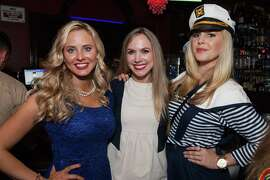 Elizabeth Sgarrella, Michelle Bertino and Cambria Steele at the Spinsters of SF Fleet or Flight event on Oct. 9, 2015.