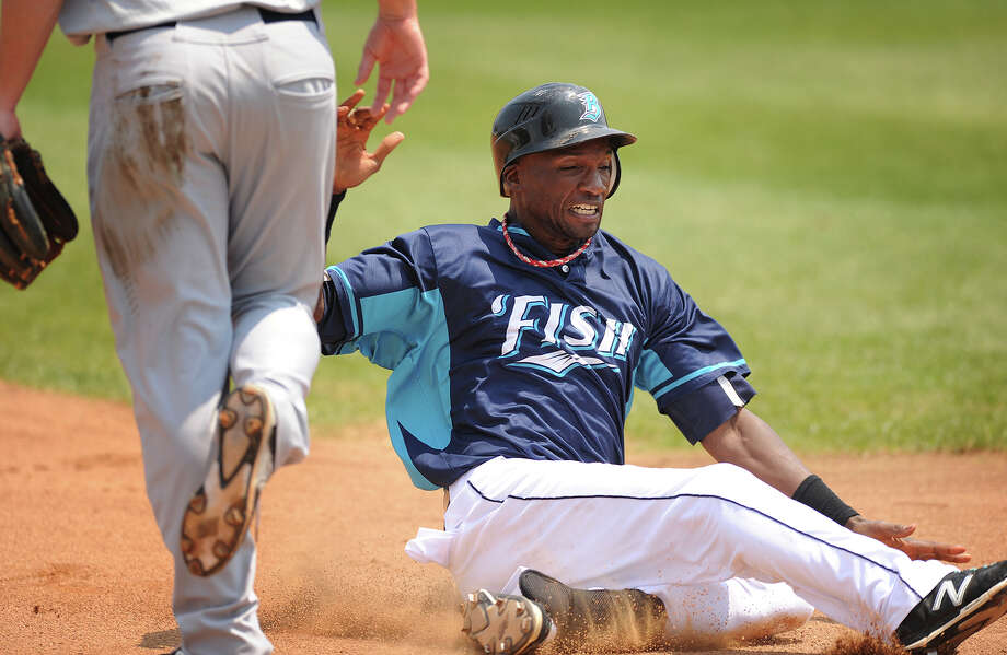 Bridgeport Bluefish outfielder Welington Dotel has been named the Atlantic League Player of the Year. Photo: Brian A. Pounds / Hearst Connecticut Media / Connecticut Post