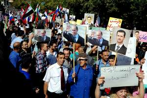 Insurgents shell Russian Embassy in Syria during rally - Photo